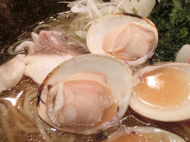 焼きハマグリ新三郎 - はまぐりらーめん 939円
