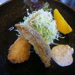 カフェレストラン 瀬里家 - GW版「瀬里家定食(1500円)」~メイン「魚のフライ」