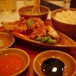 シンガポール海南鶏飯 - 海南鶏飯(揚げ)