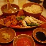 シンガポール海南鶏飯 - 海南鶏飯(MIX)