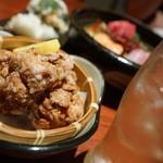 大将料理 菊屋本店 - 料理写真:とりあえず一杯