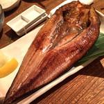 海味 はちきょう 別亭 おふくろ - 真ほっけ開き 1890円