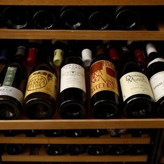 ソムリエが厳選する、こだわりのワイン