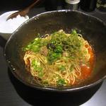 38585291 - 「大盛り汁なし担担麺(4辛)」680円+「半ライス」50円