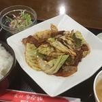 上海酒家 - 日替わりランチ(回鍋肉)¥700