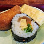 蕎勝人 - ランチセットに付きます。