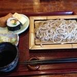 蕎勝人 - ランチセット¥850