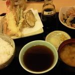 天丼てんや - 天ぷら定食になすといもを追加しました。(2015年5月)