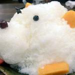 鹿児島県霧島市 塚田農場 - 白熊。とにかくかわいかった。