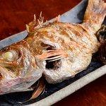 泉岳寺門前 紋屋 - 料理写真:魚神(のどぐろ)