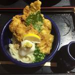 38587205 - 鶏天おろしうどん(700円)