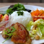 Cafe Anmar - 日替りワンプレートランチ 1,000円1ドリンクつき