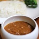 Cafe Anmar - 3日間煮込んだ国産牛すね肉のカレー&ライス 1,200円1ドリンクつき