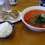 らーめん 一刻 - 料理写真:坦々麺のランチセット