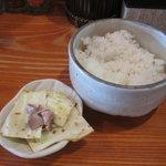 濃菜麺 井の庄 - ごはんセット