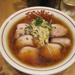 西尾中華そば - チャーシュー麺