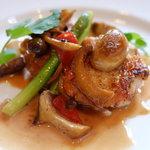 レストラン フィーネ - 但馬鶏のフリカッセストロガノフ猟師風