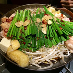 龍屋 - もつ鍋 醤油味