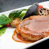 レストラン 中台 - 料理写真:分厚い弓豚のポークソテー。臭みがない弓豚は幻の食材です。