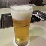 三幸園 - 生ビール