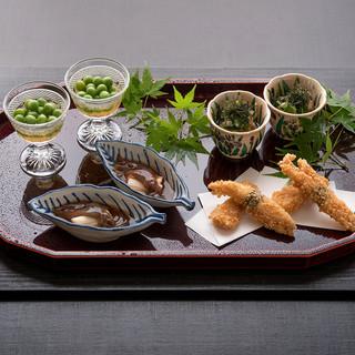 和食の神髄である素材重視だからこそ、地力のある食材を選びます
