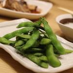 お魚どうらく - 定番の枝豆