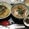 桃園 - 料理写真:カレーチャーハンセット900円