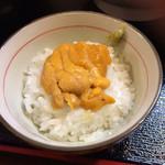 竹本商店 つけ麺開拓舎 - あとめしウニ飯