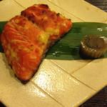 38604577 - 紅鮭の西京焼き