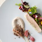 エタンセール カワモト - 料理写真:小倉ふるさと鶏のポッシェ