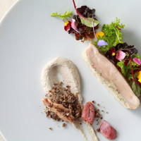 エタンセール カワモト - 小倉ふるさと鶏のポッシェ