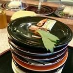 鮨庭 - おあいそ…全部で8皿とミニうどん完食。