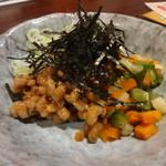 38606686 - 殿様納豆と徳川献上品「松本一本葱」
