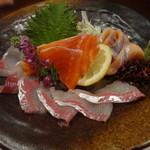 38606693 - 川魚3種盛り