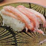 38607606 - 大漁丸 みなとさかい店・紅ズワイ蟹¥238(2015.03)