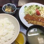 かどや食堂 - カツ定〜500円(^^)