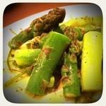 ソプラッチリア - アスパラ。さっぱりしていて美味しい!