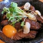 ステーキハウススフィーダ - ・「ステーキ丼(\918)」