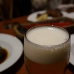 フレンチ小料理バル megane - やはり生ビールでカンパイ