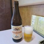 八千代飯店 - ビール中瓶