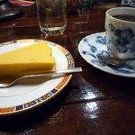 カフェ・トロワバグ - かぼちゃのムース、ハイブレンド