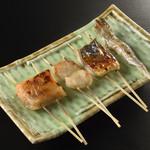 雑賀 - 魚貝串焼き
