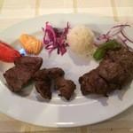 Niaribaba - 子羊もも肉 串焼き