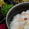 釜揚げシラスの薬味がきいた『仙崎剣先イカ生イカ茶漬け』