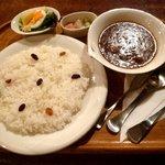 COFFEE HALL くぐつ草 - カレー・ドリンクセット (1580円)