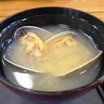 斎春 - 大あさり味噌汁