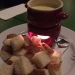 トラットリア ジョイア - チーズフォンデュ