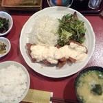 38636656 - チキン南蛮定食860円