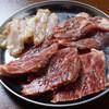 牛豚鶏3種のハラミ盛り合わせ