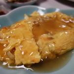 中華料理 揚子江 - ウニのオムレツ